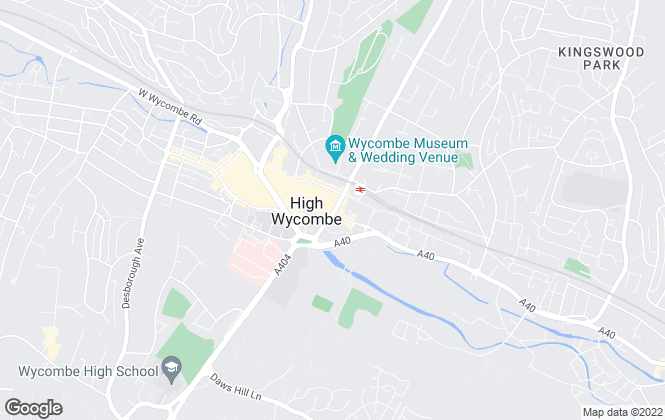 Map for RyeView Homes - Residential Sales & Lettings, High Wycombe
