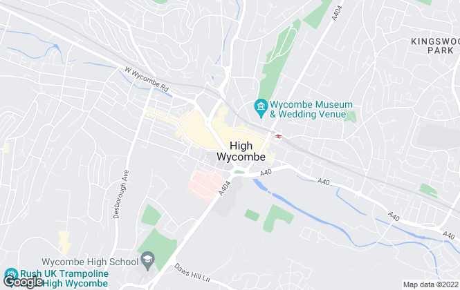 Map for Chandler Garvey, High Wycombe