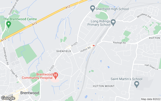 Map for Meacock & Jones, Shenfield