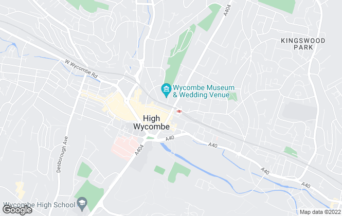 Map for Thompson Wilson, High Wycombe