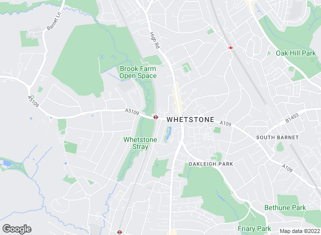 Map for Winkworth, Totteridge & Whetstone