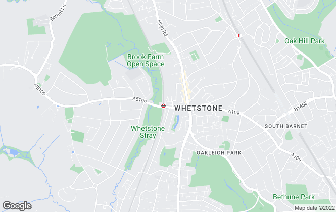 Map for Blake Westin, Totteridge
