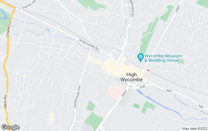 Map for Howard Court, High Wycombe