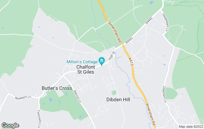 Map for Peter Scott , Chalfont St Giles