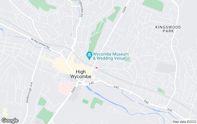 Map for Key Letts, High Wycombe