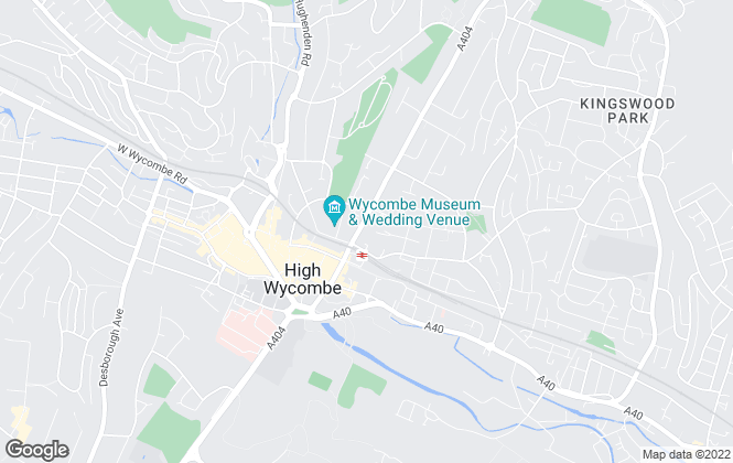 Map for Key Property 4 Sale, High Wycombe - Sales