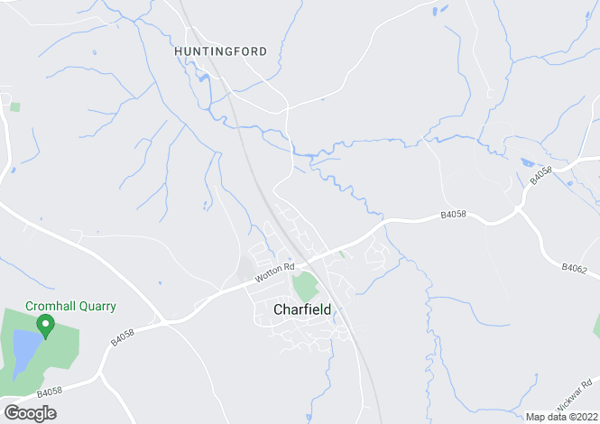 Map for New Street, Charfield, Wotton-Under-Edge, Gloucestershire