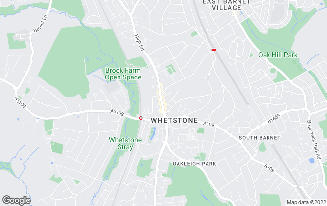 Map for Simon Clarke, Whetstone