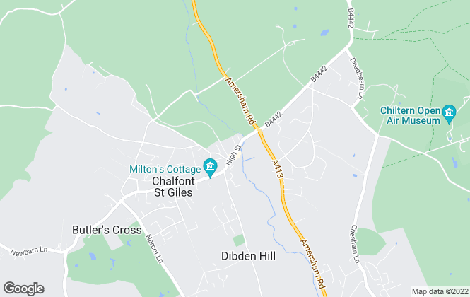 Map for Brampton Partnership, Chalfont St Giles