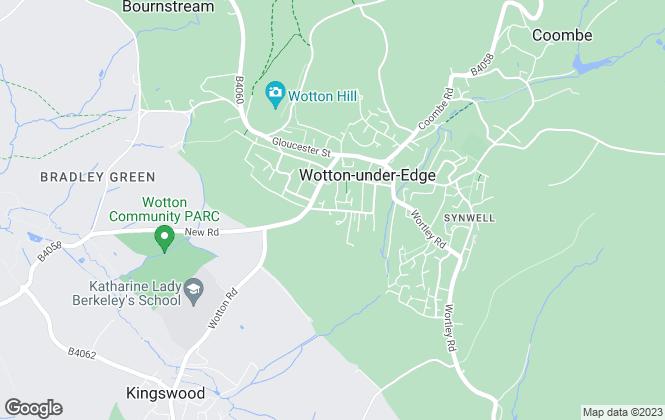 Map for David James & Partners, Wotton-Under-Edge