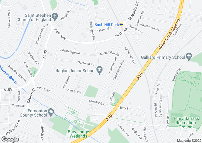 Map for Raglan Road,