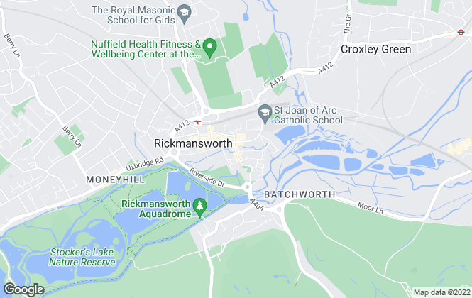 Map for Savills Lettings, Rickmansworth