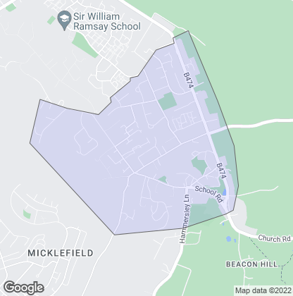 Map of property in Tylers Green