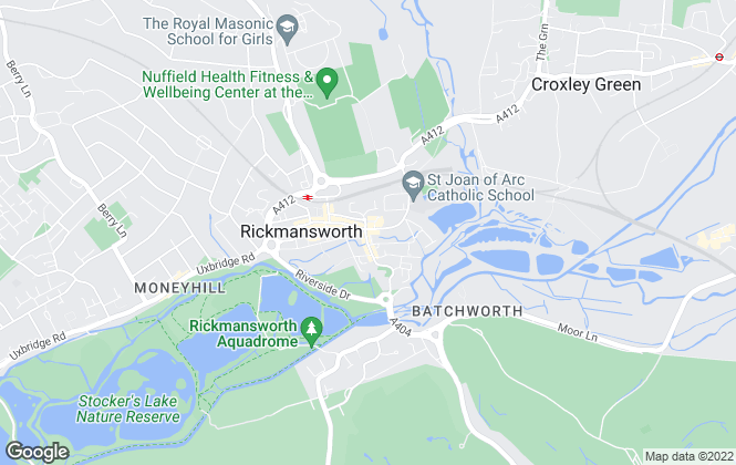 Map for Gibbs Gillespie, Rickmansworth Sales