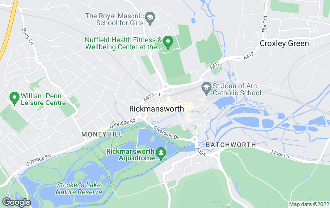 Map for Robsons, Rickmansworth