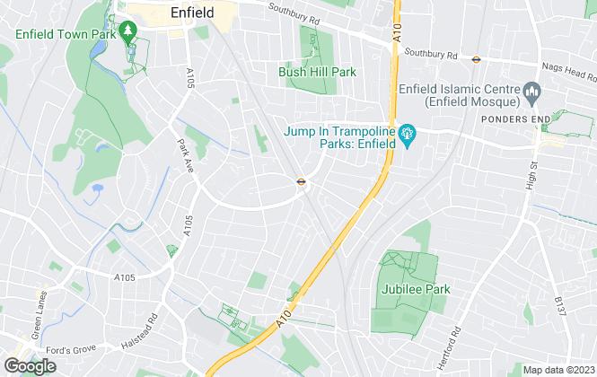 Map for Grange Homes Estate Agents, Enfield