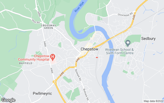 Map for Peter Alan, Chepstow