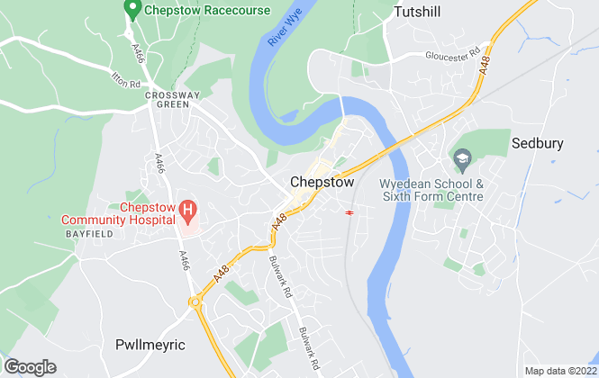 Map for Fine & Country, Chepstow