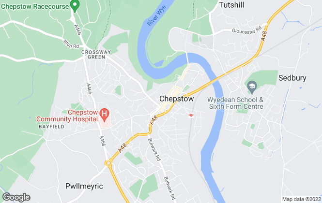 Map for Newland Rennie, Chepstow