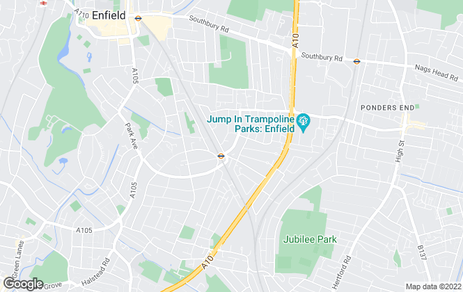Map for Andrew Stevens, Enfield