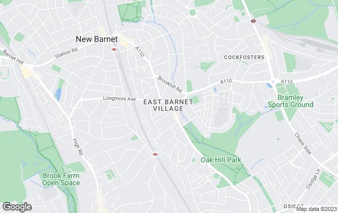 Map for Aleco Estate Agents, East Barnet