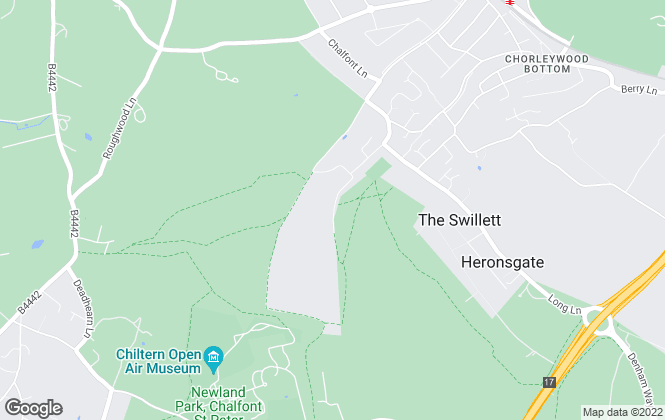 Map for Open Online Limited, Chorleywood