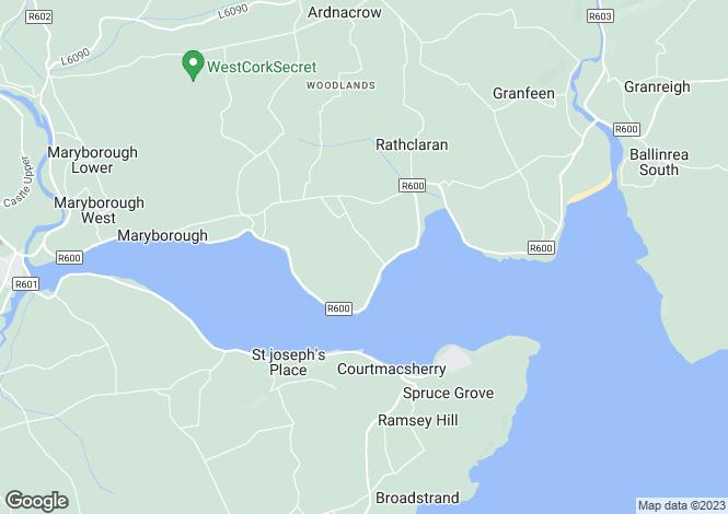 Map for Kilbrittain, Cork