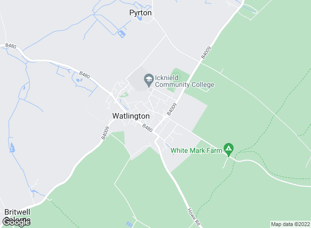 Map for Robinson Sherston, Watlington