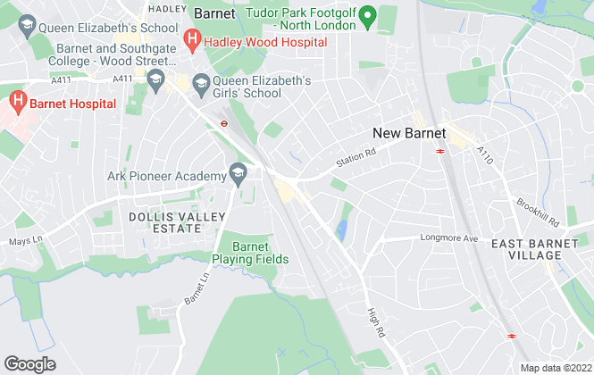 Map for Bairstow Eves, New Barnet