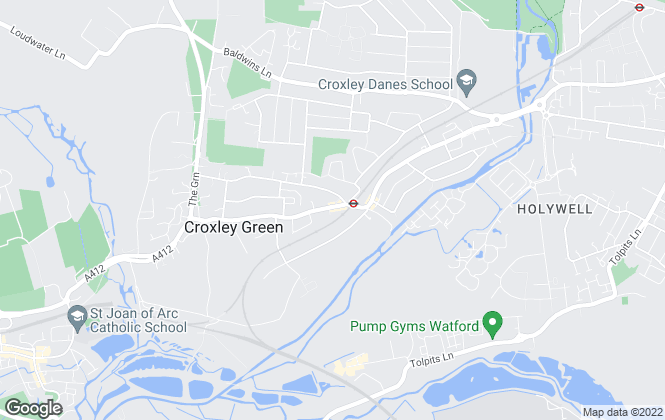 Map for Ecstatik, Croxley Green
