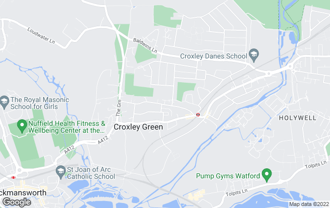 Map for Grosvenor Estate Agents, Croxley Green