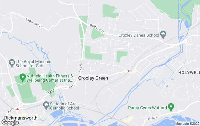 Map for James Estate Agents, Croxley Green