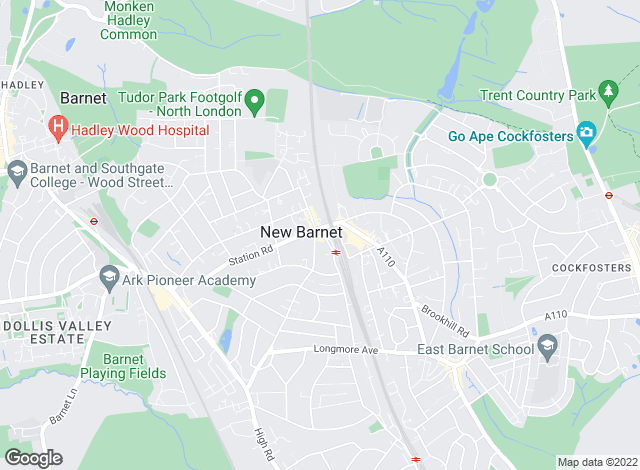 Map for YOUR MOVE Sales - Spencer & Sener, New Barnet