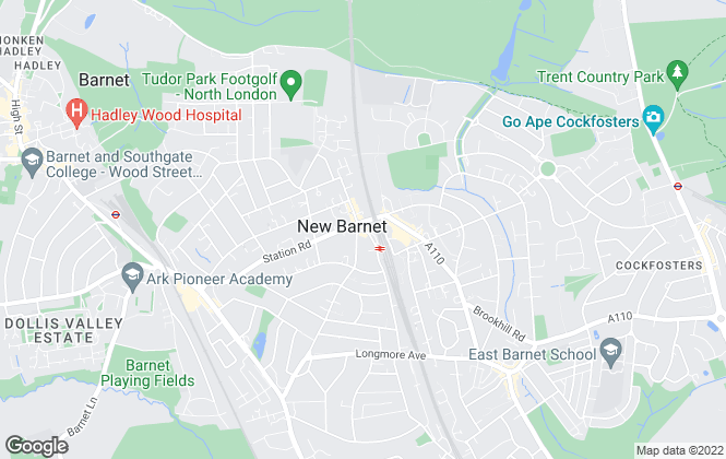 Map for YOUR MOVE Sales - Spencer & Sener, New Barnet