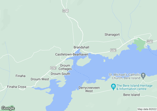 Map for Castletown Bere, Cork