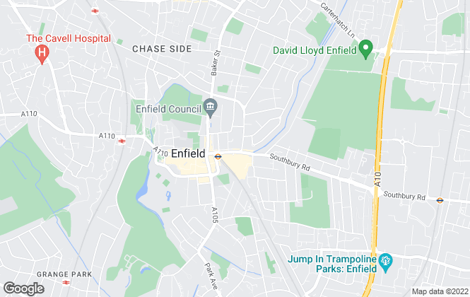 Map for Angels Sales & Lettings, Enfield