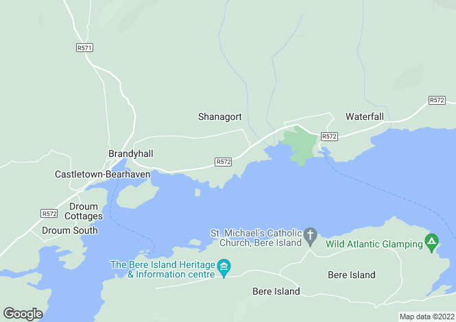 Map for Rodeen, Castletown Berehaven,   Cork West