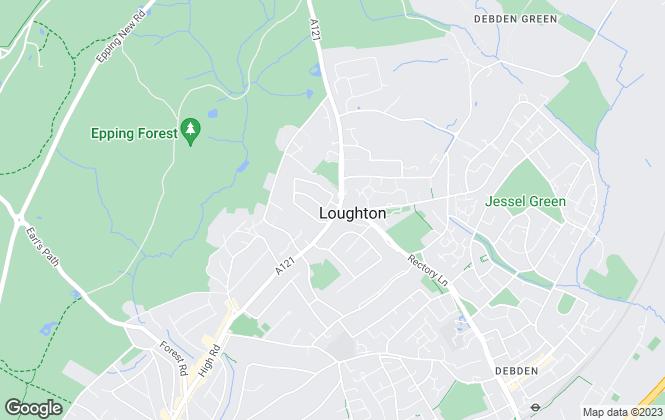 Map for Stevenette & Company, Loughton