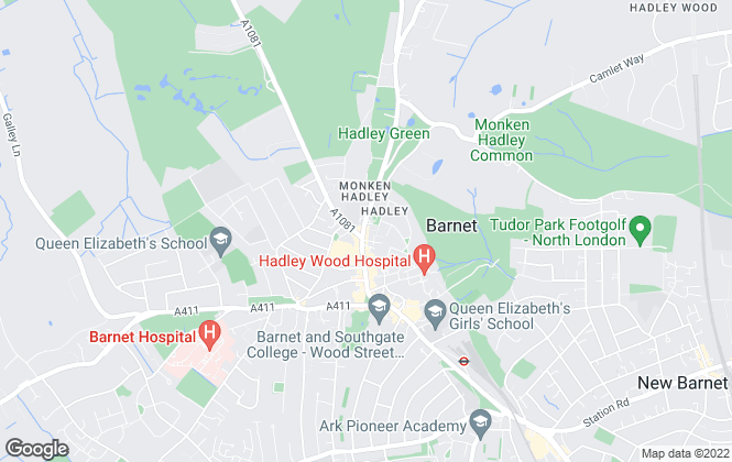 Map for Statons, Barnet - Lettings
