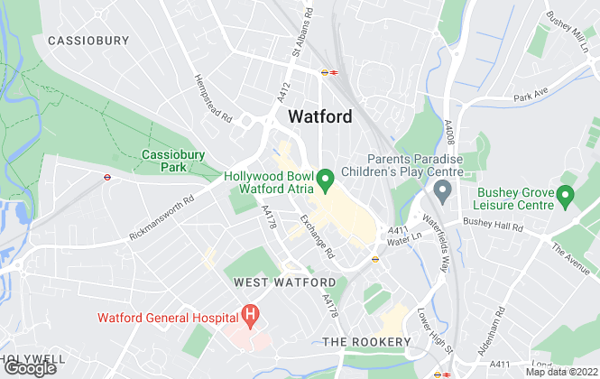 Map for Connells, Watford