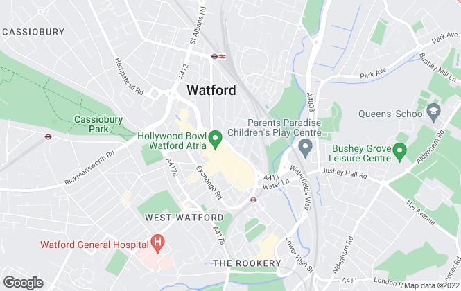 Map for Perry Holt & Co, Watford