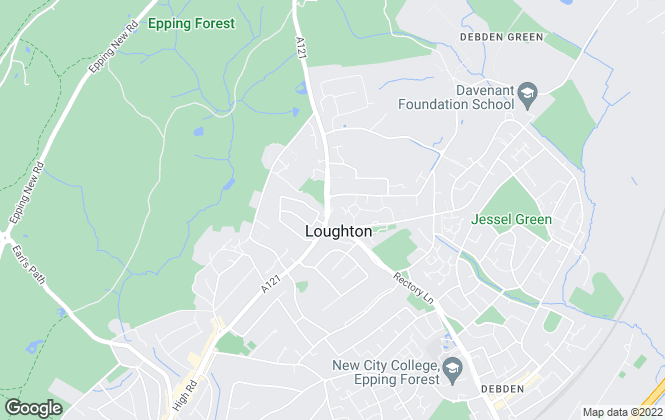 Map for Discover Residential Ltd, Loughton