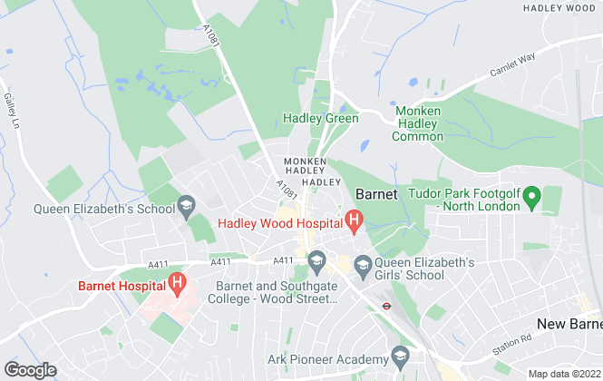 Map for Statons, Barnet - Sales