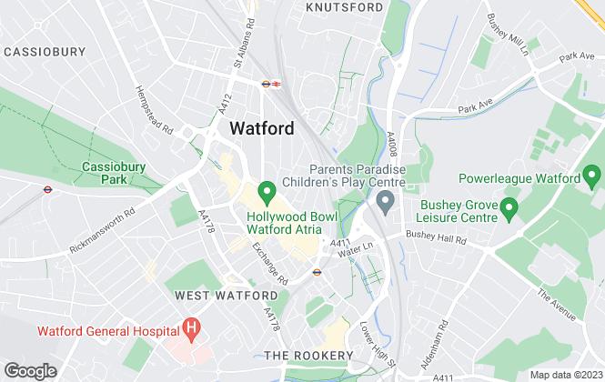 Map for Signature Estates, Watford