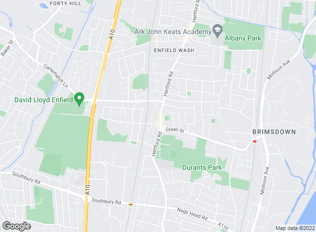 Map for Church's, Enfield