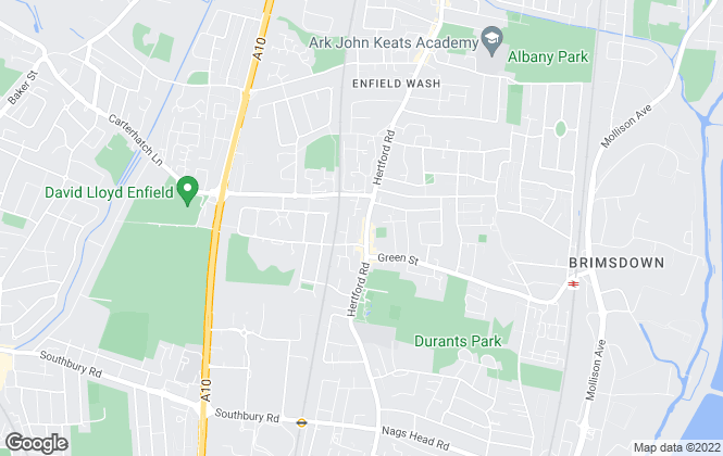 Map for Church's, Enfield- Lettings