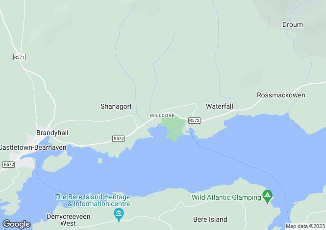 Map for Castletown Bere, Cork