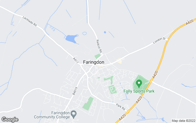Map for Marriotts With Richard James, Faringdon - Lettings