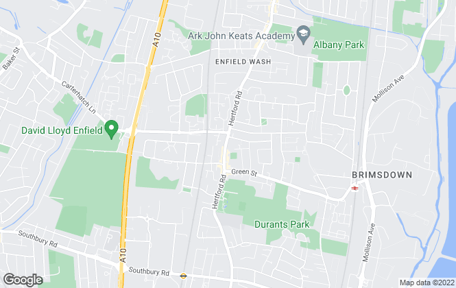 Map for Equity Estate Agents, Enfield - Sales