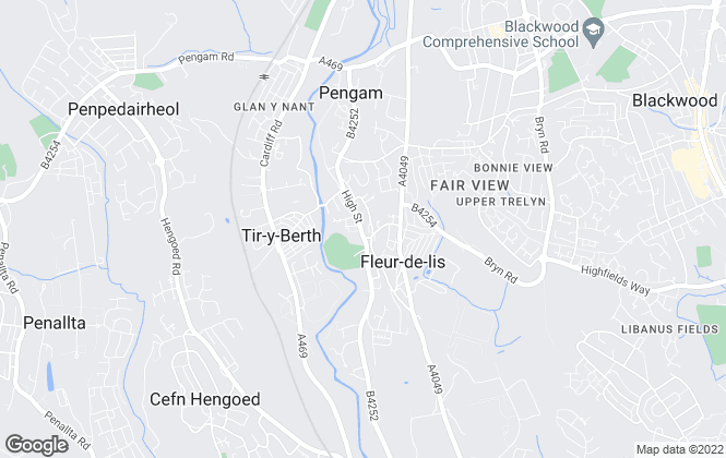 Map for DJM Estates , Fleur De Lis